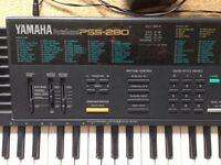 Yamaha electronic keyboard.