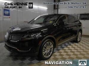2017 Lincoln MKX Reserve  - Navigation - Lane Departure -