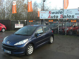 2006 PEUGEOT 207 S 1.4HDI ONLY 101,418 MILES, £30 TAX, FULL SERVICE HISTORY