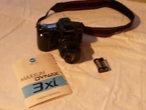 Minolta Maxxum Dynax 3XI with 75mm-300mm zoom lens