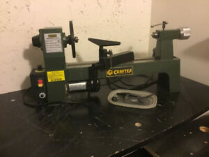 MIni lathe, chisel set & low speed grinder