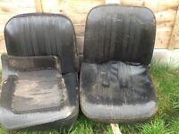 Classic mini front seats