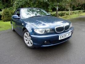 2005 BMW 3 SERIES 320CD SE COUPE DIESEL