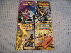 1994/95 Classic Star Wars -The Early Years Comics Set