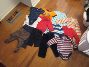 12-18M girls and boys baby clothing and outerwear