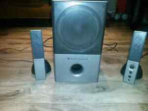 Computer speakers with sub