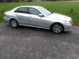 Mercedes E220 diesel new shape 13 plate £4100