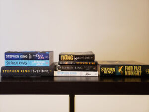Stephen King books ('Very Good' condition)