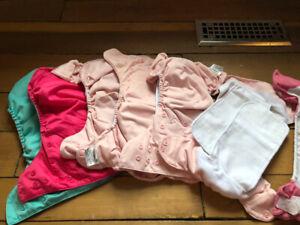 Cloth diapers - bum genius