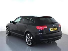 2012 AUDI A3 2.0 TDI 170 Black Edition 5dr [Start Stop]