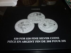 20 FOR 20 SILVER COIN SET Kitchener / Waterloo Kitchener Area image 4