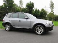 BMW X3 2.0 DIESEL 4X4 ** LOW MILES & F.S.H ** FULL LEATHER INTERIOR