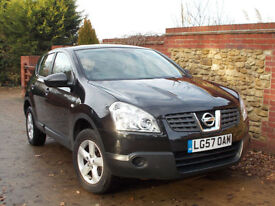 Nissan Qashqai 1.5dCi 2WD Visia Black Manual 5dr - Lady Owner, Excellent History