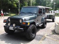 SOFT  TOP for sale : for a 1997 - 2002 Jeep  TJ      OIIIIIO