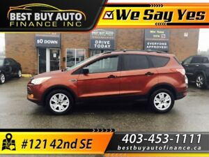 2014 Ford Escape FWD 4dr S , ONLY $119 BI-WEEKLY, CASH BACK AVAI