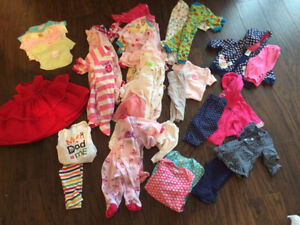 Girls 3 month fall/winter clothing lot Kingston Kingston Area image 1