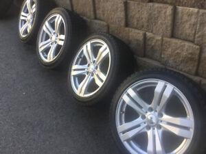 4 pneus hiver 215/45r17 Continental Winter/ Mag DAI 5x114.3