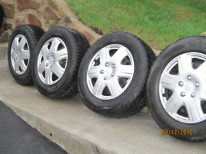 Winter Tires 16 inch on rims