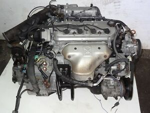94-97 JDM Honda Accord F22B Sohc Vtec 2.2L Engine & Auto Transmi