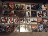 PS3 Game Collection - 32 Available titles