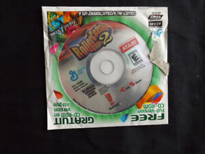 Roller Coaster Tycoon 2 Bilingual Version PC CD-ROM Game SEALED