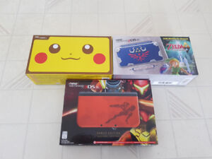 Limited Edition Nintendo 2DS + 3DS Systems (Brand New)