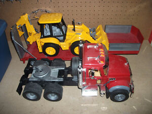 Bruder Trucks and Construction Toys