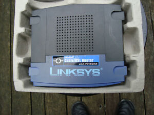 Linksys Wired Router Model BEFSR41