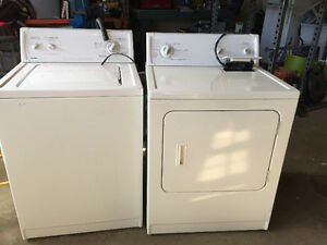 Kenmore special edition washer and dryer