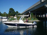 2014 Scout 225XSF-200HP Yamaha 4 Stroke-Tandem Trailer