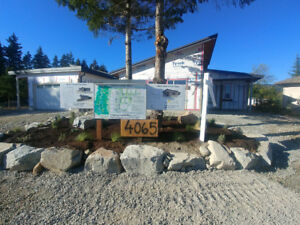 New Homes recreation or full time residences Vancouver Island