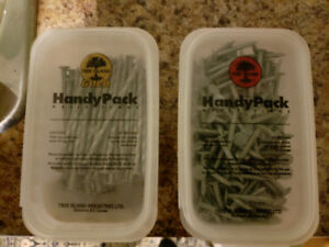 HandyPack Nails. IN EXCELLENT CONDITION! NEVER USED $15 & $20
