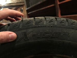 Michelin X-Ice winter tires for sale Kitchener / Waterloo Kitchener Area image 4