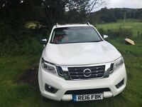Nissan navara np300 2016 16 reg 4 months old top of the range