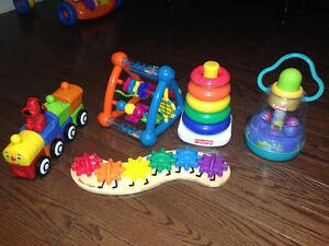 9 Piece Toy Lot