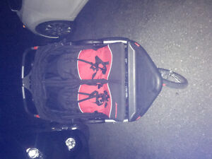 Baby Trend Expedition EX double jogging stroller St. John's Newfoundland image 1