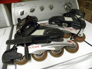 Patins à roues alignées DUKES /détails sur photos+ dispo. ci-bas