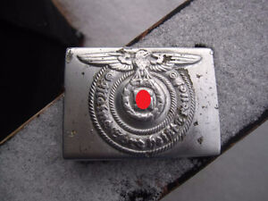German WW2 Elite Troops Buckle. RZM 36/40
