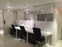 Digital media desk space available in Brighton - come and share our lovely new design studio