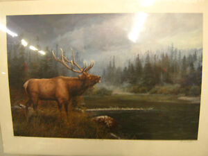 "Marla Wilson ""High Country Elk Signed Print"