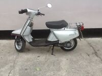 1984 Yamaha salient 50cc moped very rare now only 2 registered in the uk
