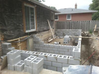 Bricklaying, Foundation Contractor, Concrete Cutting