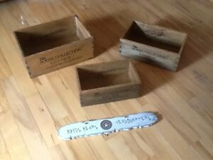 Boyds Bears Nesting Boxes and Sign