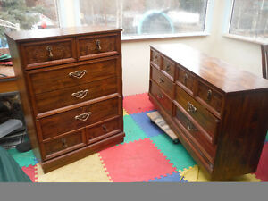 .......SOLD.......2 1970's dressers
