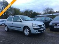 2004 54 RENAULT CLIO 1.1 EXTREME 3DR 16V 3D 75 BHP