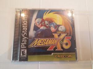 PS1 Megaman X5