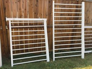 Used aluminum deck railing