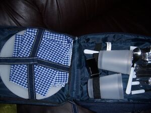 New Picnic Set in Small Backpack