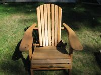 Woods foldable chair