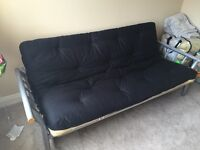 Double sided sofa bed